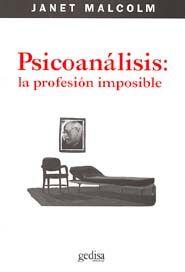 PSICOANALISIS: LA PROFESIÓN IMPOSIBLE