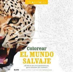 COLOREAR EL MUNDO SALVAJE (TRIANIMALES)