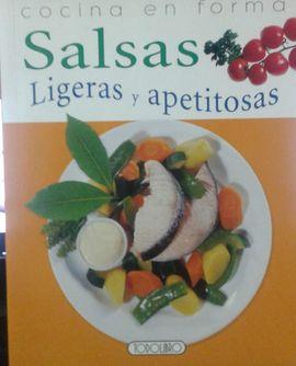 SALSAS LIGERAS Y APETITOSAS - COCINA EN FORMA