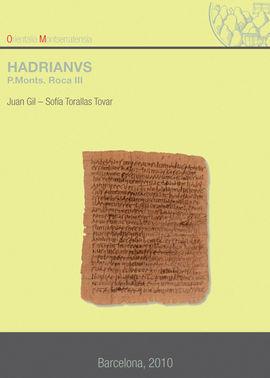 HADRIANVS. (P. MONTS. ROCA III)