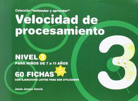 VELOCIDAD DE PROCESAMIENTO, NIVEL 3