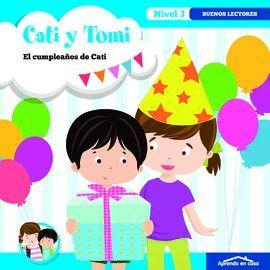 APRENDO EN CASA CATI Y TOMI EL CUMPLEAÑOS DE CATI
