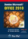 DOMINE MICROSOFT OFFICE 2010