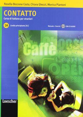 CONTATTO A1 MANUAL + EJERCICIOS CON CD AUDIO