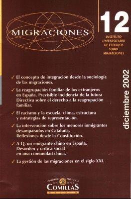 MIGRACIONES AÑO 2002, NÚMERO 12