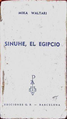 SINUHE EL EGIPCIO