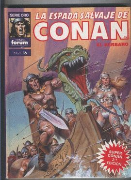 SUPER CONAN SEGUNDA EDICION NUMERO 16: UN ENEMIGO IMPLACABLE