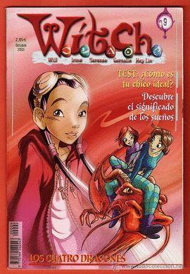 WITCH - Nº 9 - OCTUBRE 2003  LOS CUATRO DRAGONES