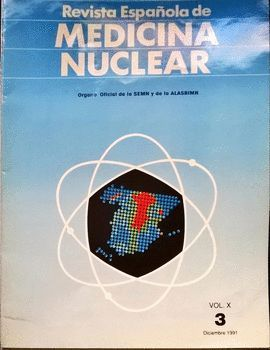 REVISTA ESPAÑOLA DE MEDICINA NUCLEAR. VOL. X. 3,  DICIEMBRE 1991