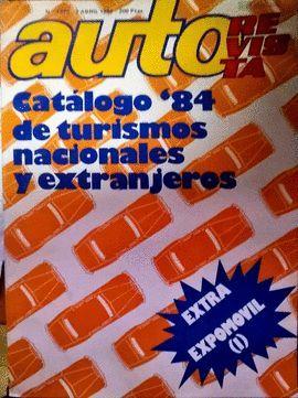 REVISTA  AUTO Nº1373. 7 ABRIL 1984
