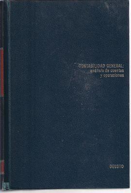 CONTABILIDAD GENERAL (ANALISIS DE CUENTAS Y OPERACIONES)