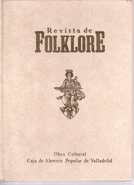 REVISTA DE FOLKLORE. LIBRO 1 NUMEROS: 1/2/3/4/5/6