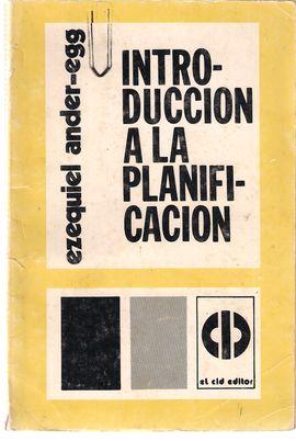 INTRODUCCION A LA PLANIFICACION