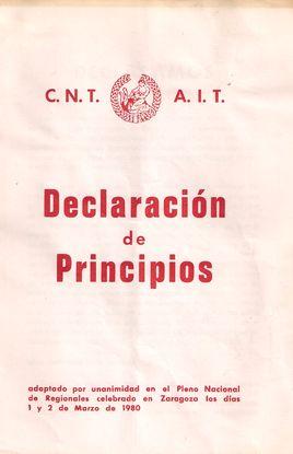 ´CNT-AIT. DECLARACIÓN DE PRINCIPIOS