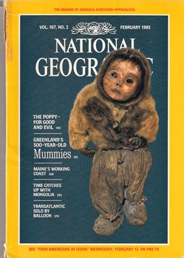 NATIONAL GEOGRAPHIC MAGAZINE, VOL. 167, NUM. 2, FEBRUARY 1985
