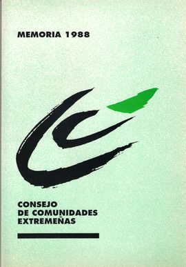 MEMORIA 1988. CONSEJO DE COMUNIDADES EXTREMEÑAS