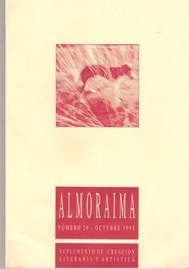 ALMORAIMA. NUM. 20, OCT. 1998. / DE LAS IMPERFECCIONES/ HOLOCAUSTO/ EL TRAZADO DE LOS SUEÑOS/ PRIMERA TRAD. AL ESPAÑOL DEL CÓDICE 50 DE LEONARDO/ LAS