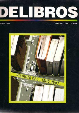 REVISTA: DELIBROS ENERO 2007 AÑO XX Nº205