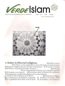 VERDE ISLAM. AÑO 3.NUM. 7, 1997. SOBRE LA LIBERTAD RELIGIOSA