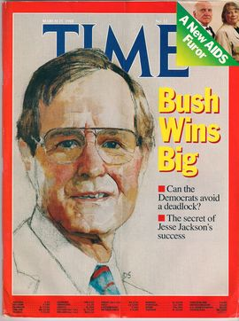 TIME NUM. MARCH 21. 1988. BUSH WINS BIG// CAN THE DEMOCRATS AVOID A DEADLOCK?// THE SECRET OF JESSE JACKSON´S SUCCESS