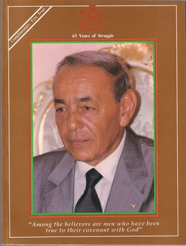 63 YEARS OF STRUGGLE. COMPLEMENTARY FREE ISSUE