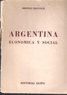 ARGENTINA ECONÓMICA Y SOCIAL