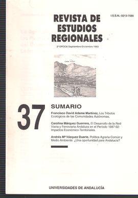 REVISTA DE ESTUDIOS REGIONALES. 2ª ÉPOCA. SEPT.-DIC. 1993. LA AGRICULTURA CANARIA EN VÍSPERAS DE LOS PUERTOS FRANCOS DE 1852: EL INFORME DEL COMISIONA