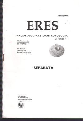 ERES. VOL. 11, JUNIO 2003. ARQUEOLOGÍA/BIOANTROPOLOGÍA. CONSIDERACIONES EN TORNO AL MEDIO NATURAL CANARIO ANTERIOR A LA CONQUISTA