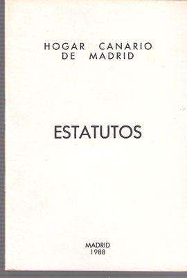 HOGAR CANARIO DE MADRID. ESTATUTOS