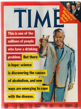 TIME. N. 48, NOVEMBER 30, 1987/ THIS IS ONE OF THE MILLIONS OF PEOPLE WHO HAVE A DRINKING PROBLEM.  BUT THERE IS HOPE: SCIENCE IS DISCOVERING THE CAUS