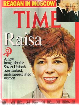 TIME. N. 23, JUNE 6, 1988/ REAGAN IN MOSCOW. RAISA, A NEW IMAGE FOR THE SOVIET UNION'S OVERWORKED, UNDERAPPRECIATED WOMEN/..