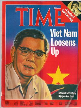 TIME. N. 5, FEBRUARY 1, 1988/ VIET NAM, LOOSENS UP/ A NOBEL GATHERING/...