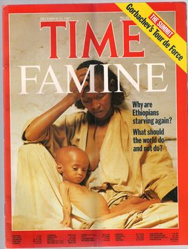 TIME. N. 51, DECEMBER 21, 1987/ FAMINE. WHY ETHIOPIANS STARVING AGAIN? WHAT SHOULD THE WORLD DO AND NOT DO?/ THE SUMMIT: GORBACHEV'S TOUR DE FORCE/...