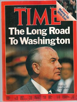 TIME. N. 50, DECEMBER 14, 1987/ THE LONG ROAD TO WASHINGTON/ FRANCE. MAKING UP WITH IRAN/..