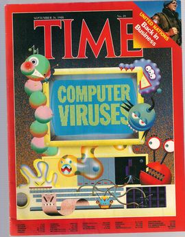 TIME. N. 39, SEPTEM. 26, 1988/ COMPUTER VIRUSES/ UNITED NATIONS. BACK IN BUSINESS/...
