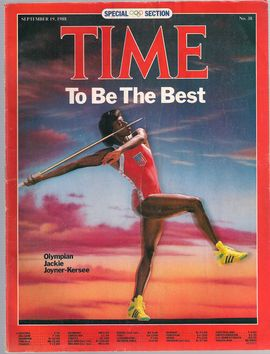 TIME. N. 38, SEPTEM. 19, 1988/ TO BE THE BEST. OLYMPIAN JACKIE JOYNER-KERSEE