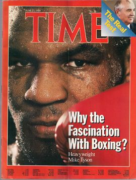 TIME. N. 26, JUNE 27, 1988/ WHY THE FASCINATION WITH BOXING?. HEAVY WEIGHT MIKE TYSON/ THE REAL TEST/...