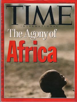 TIME. N. 36, SEPTEMBER 7, 1992/ THE AGONY OF AFRICA/...