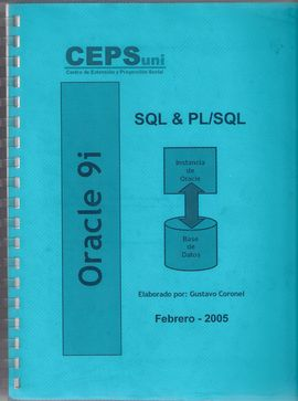 ORACLE 9I - NIVEL INICIAL SQL & PL/SQL