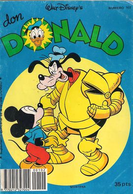 DON DONALD, SUPLEMENTO QUINCENAL. REVISTA DUMBO. Nº 102