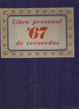 LIBRO PERSONAL DE RECUERDOS 67