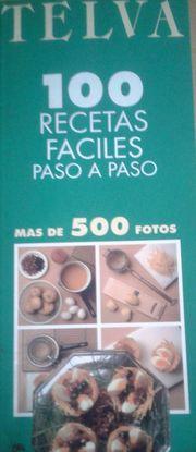 TELVA 100 RECETAS FACILES PASO A PASO