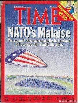 TIME. NUM. 14, MARCH 28, 1988/ NATO·S MALAISE