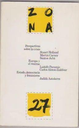 REVISTA: ZONA ABIERTA 27 - ENERO / MARZO 1983