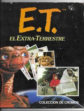 E.T. EL EXTRA-TERRESTRE, COLECCION DE CROMOS. COMPLETO COMPLETOS 120 CROMOS. 1982