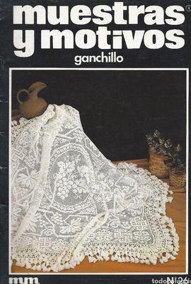 MUESTRAS Y MOTIVOS GANCHILLO Nº 26