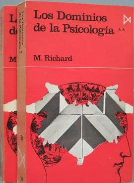 LOS DOMINIOS DE LA PSICOLOGÍA. RICHARD. 2 TOMOS