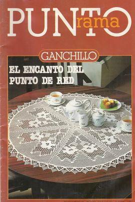PUNTO RAMA GANCHILLO ииии EL ENCANTO DEL PUNTO DE RED иии N║ 23