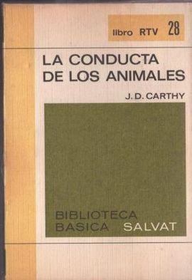 LA CONDUCTA DE LOS ANIMALES