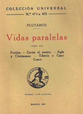 VIDAS PARALELAS, TOMO VIII